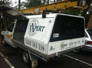 Expert Pest Control Branded Van